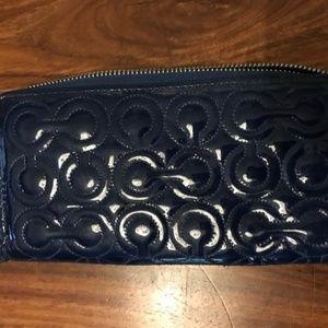 Coach Dark Blue Wallet